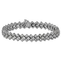 <h2></h2><p>211<BR />Ladies Diamond Bracelet - 10.00ct</p>