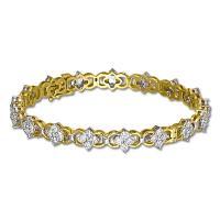 <h2></h2><p>218<BR />Ladies Diamond Bracelet<BR />18K Gold   <BR />7.92ct</p>