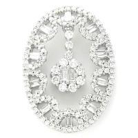 <h2></h2><p>224<BR />Ladies Diamond Pendant - 0.94ct.</p>