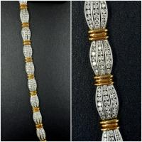 <h2></h2><p>14K Yellow and White Gold<BR />Diamonds: 3.00ct<BR />Regular Price: $12500<BR />ON SALE $4375<BR /><BR />#ST701